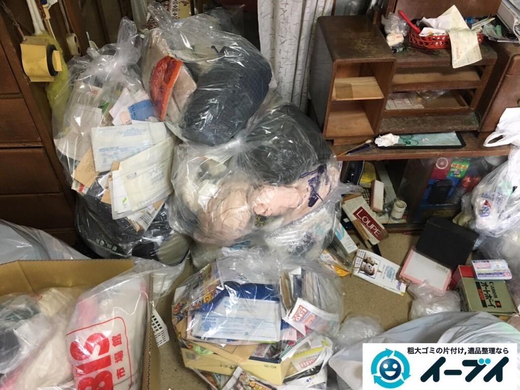 10月22日 大阪府貝塚市でゴミ屋敷の家具や粗大ゴミの片付けをしました。写真3