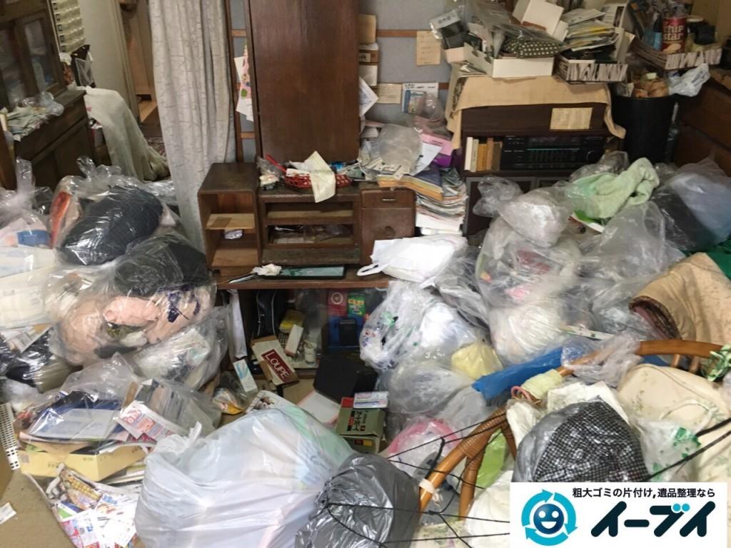 10月22日 大阪府貝塚市でゴミ屋敷の家具や粗大ゴミの片付けをしました。写真2