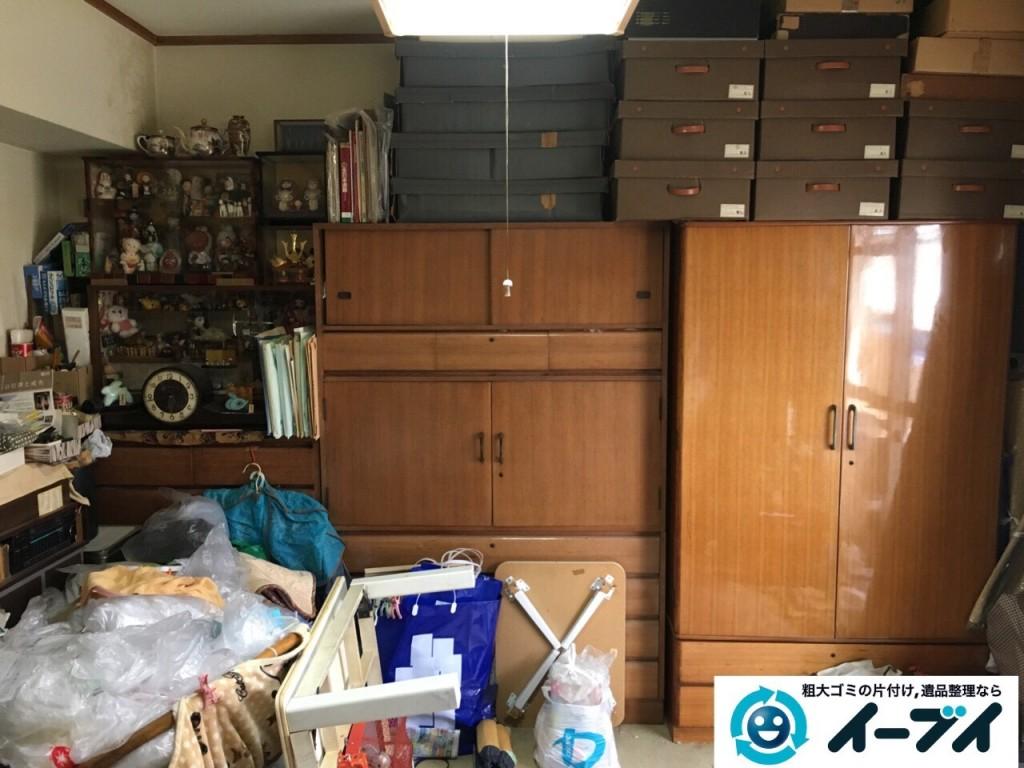 10月22日 大阪府貝塚市でゴミ屋敷の家具や粗大ゴミの片付けをしました。写真8