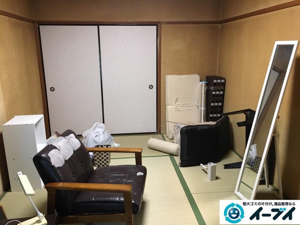12月4日 大阪府三島郡島本町で家具や粗大ゴミ処分に伴う遺品整理をしました。写真7