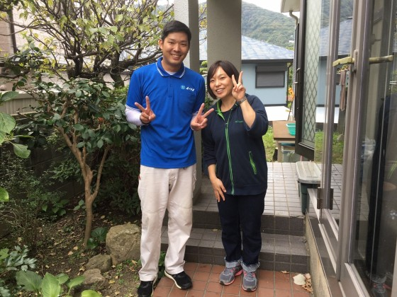 11月19日 兵庫県宝塚市で引っ越し作業とマッサージチェアの処分でイーブイを利用していただきました。