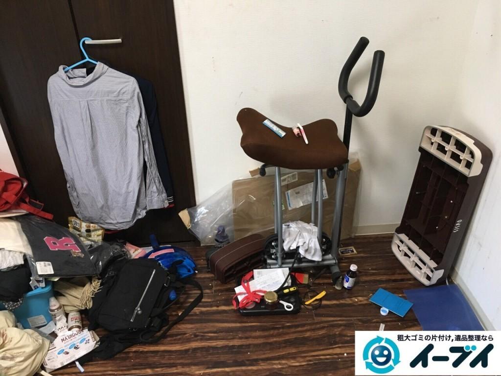 11月18日 大阪府大阪市西成区でベットや布団など粗大ゴミの不用品回収をしました。写真5