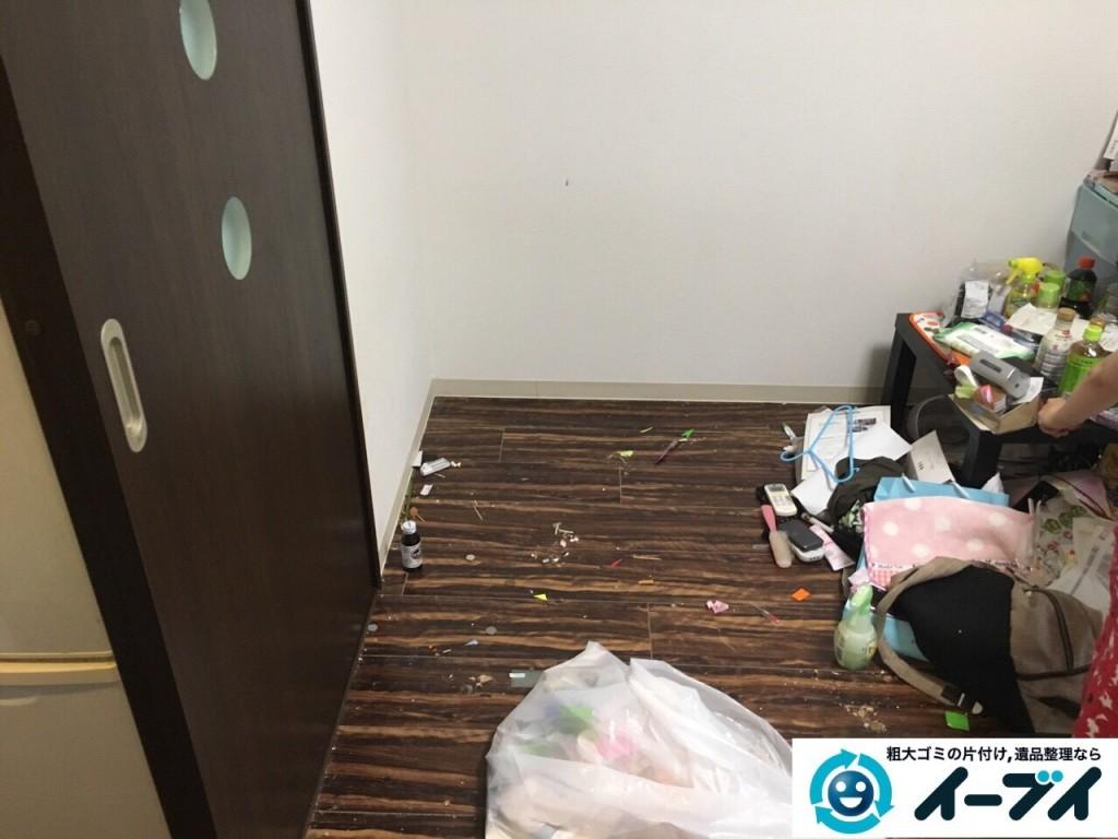 11月18日 大阪府大阪市西成区でベットや布団など粗大ゴミの不用品回収をしました。写真4