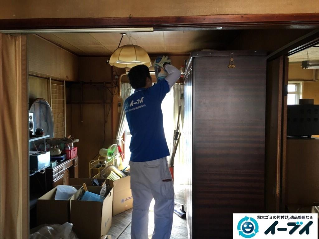11月14日 大阪府藤井寺市で婚礼家具や鏡台などの粗大ゴミの家具処分をしました。写真7