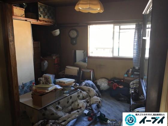 11月12日 大阪府藤井寺市で押し入れの布団や粗大ゴミの処分をしました。(遺品整理編) 写真6