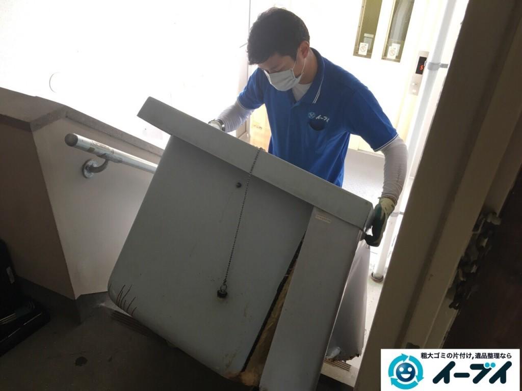 11月10日 大阪府藤井寺市で遺品整理のため風呂釜や下駄箱などの生活用品の処分をしました。写真4