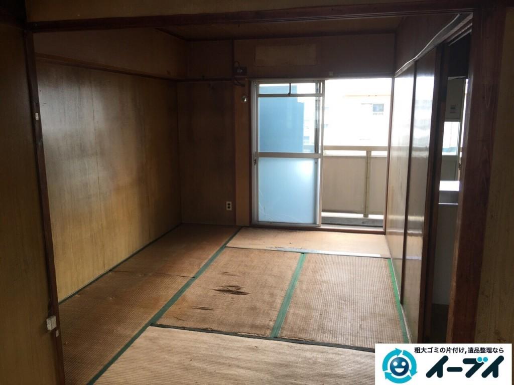 11月14日 大阪府藤井寺市で婚礼家具や鏡台などの粗大ゴミの家具処分をしました。写真4