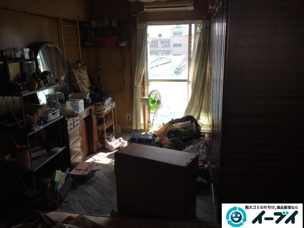 11月14日 大阪府藤井寺市で婚礼家具や鏡台などの粗大ゴミの家具処分をしました。写真3
