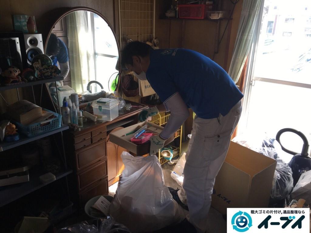 11月14日 大阪府藤井寺市で婚礼家具や鏡台などの粗大ゴミの家具処分をしました。写真2