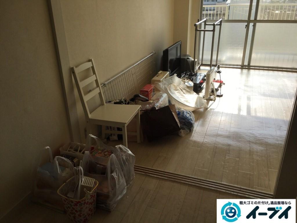 12月2日 大阪府堺市堺区でテレビやパソコンなど細々した廃品や粗大ゴミの処分をしました。写真6