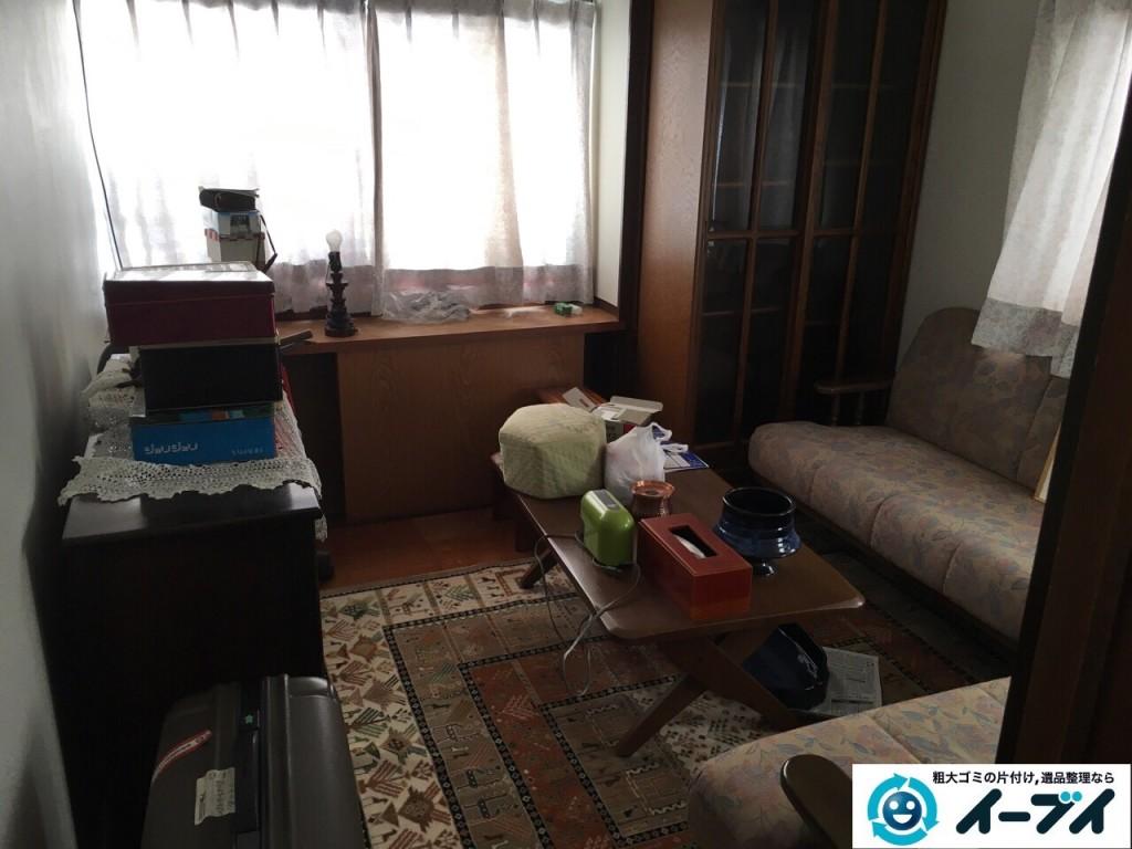 11月28日 大阪府大阪市東淀川区でソファー等の家具や絨毯など粗大ゴミの不用品回収をしました。写真6