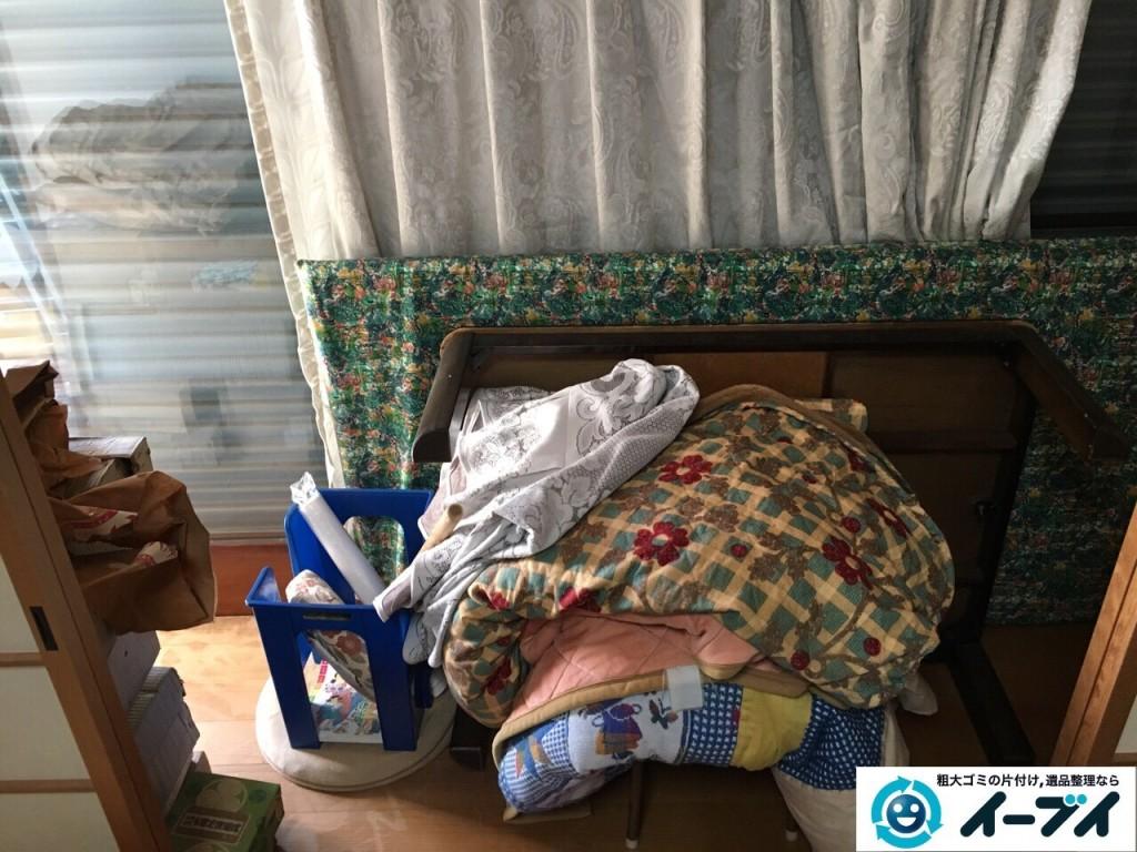 11月22日 大阪府大阪市阿倍野区で遺品整理に伴う家具や布団など粗大ゴミの片付けをしました。写真7