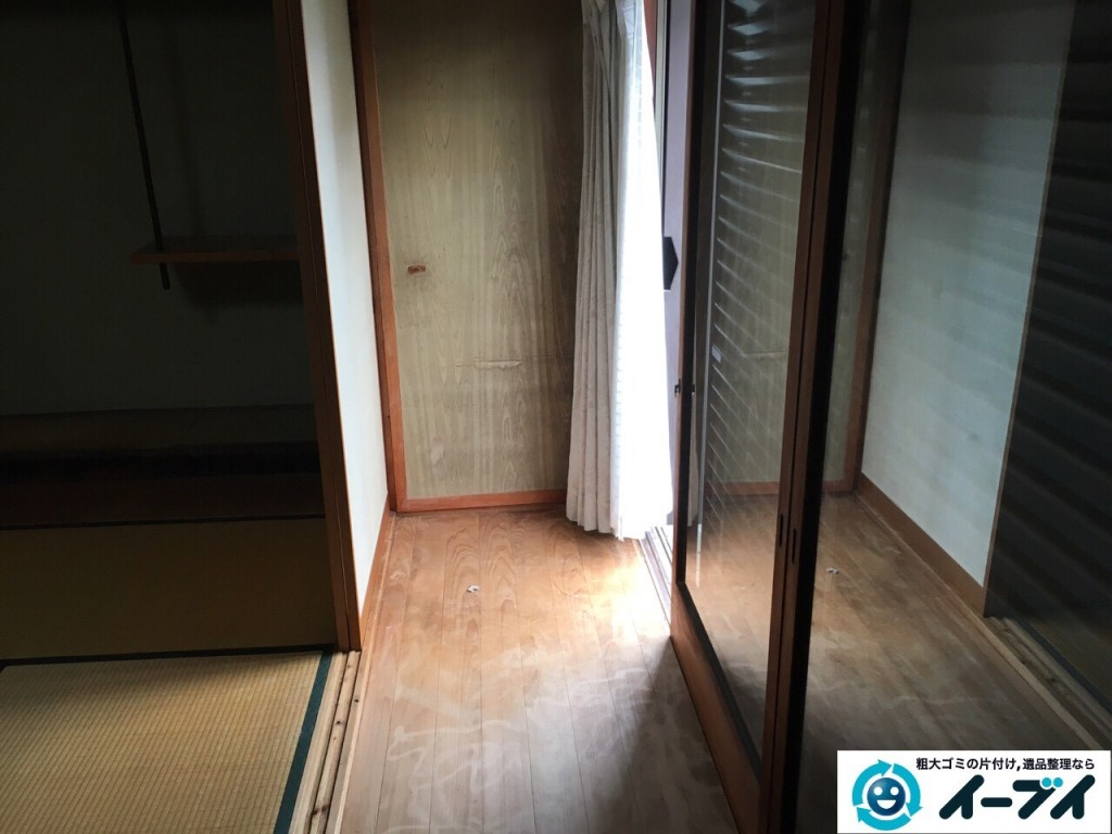 11月22日 大阪府大阪市阿倍野区で遺品整理に伴う家具や布団など粗大ゴミの片付けをしました。写真3