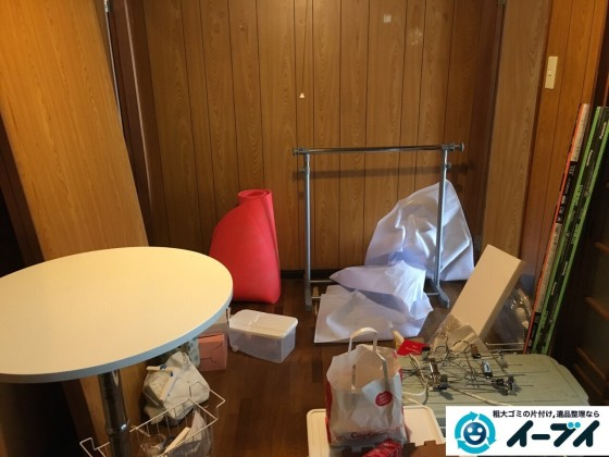 12月5日 大阪府吹田市でテーブルや粗大ゴミを不用品回収しました。写真7