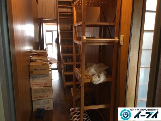12月1日 大阪府高石市で引越しに伴う家具処分や粗大ゴミの不用品回収をしました。写真2