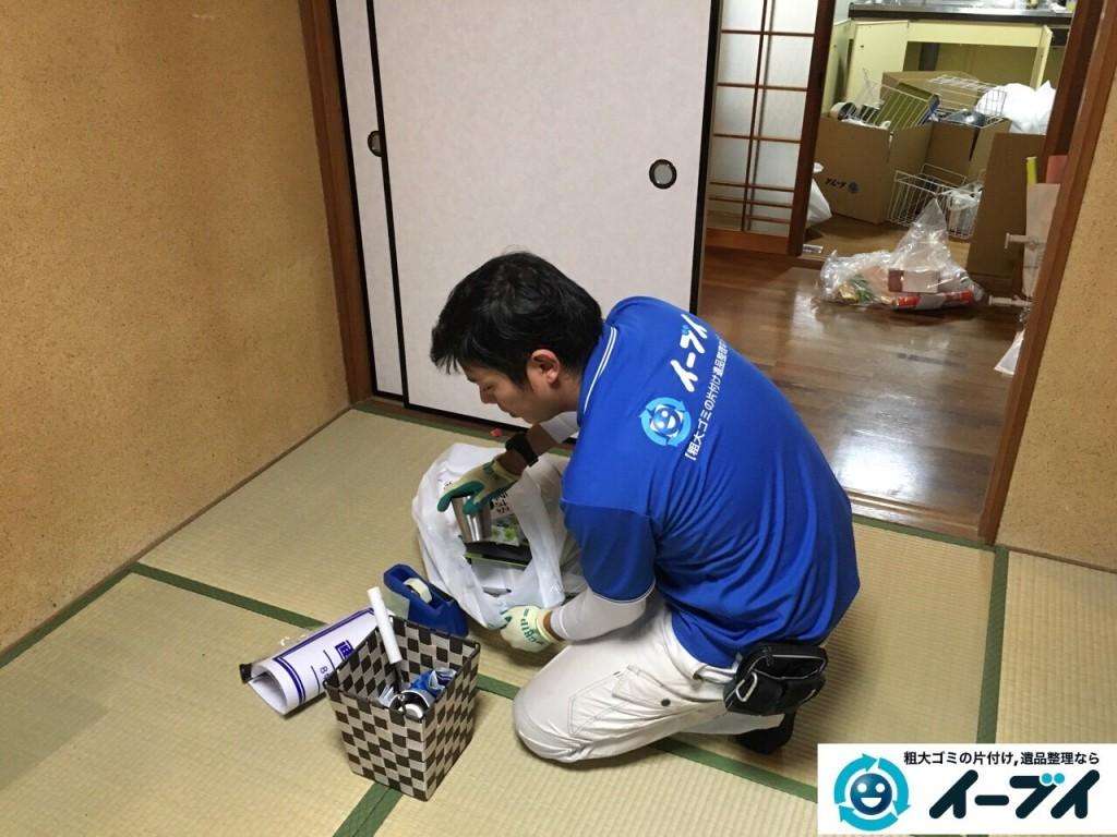 12月4日 大阪府三島郡島本町で家具や粗大ゴミ処分に伴う遺品整理をしました。写真5