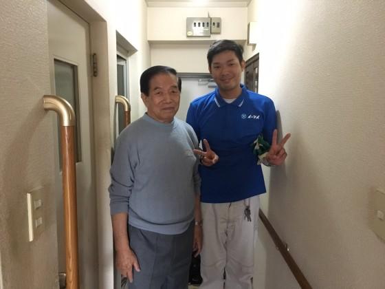 11月7日 大阪府大阪市住吉区で布団とソファーの処分でイーブイを利用してくださいました。写真1