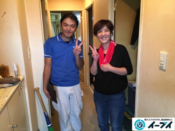 11月3日 大阪府堺市でタンスやドレッサーの家具の粗大ゴミを不用品回収しました。
