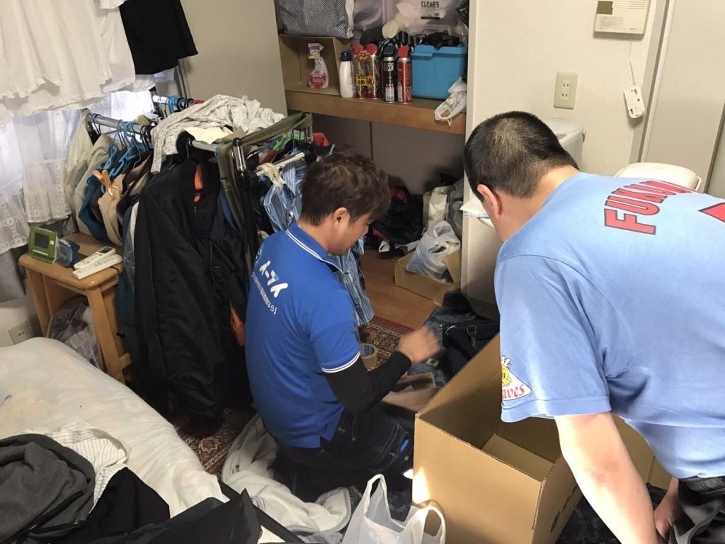 11月21日 奈良県奈良市で部屋の片付けに伴う、不用品回収でイーブイをご利用していただきました。写真2
