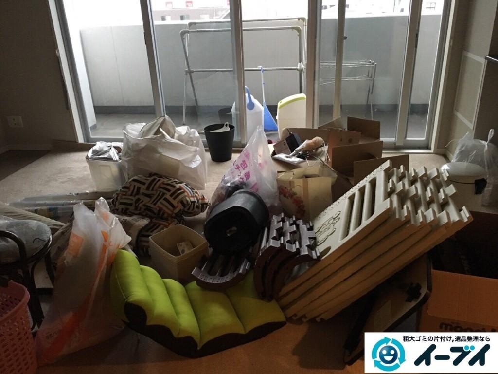 12月25日 大阪府堺市西区で引越しゴミや鏡台や粗大ゴミを不用品回収しました。写真5
