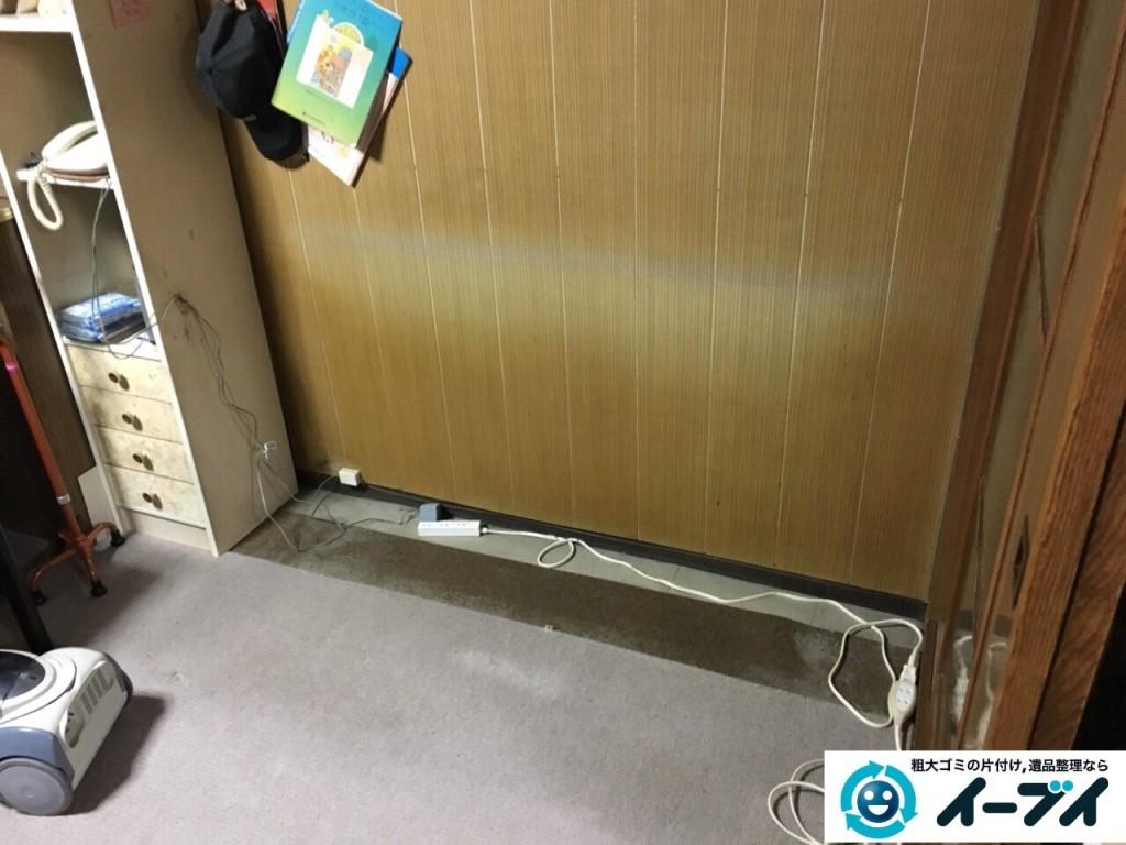 12月8日 大阪府茨木市で家具移動とタンス等の粗大ゴミや家具処分をしました。写真5