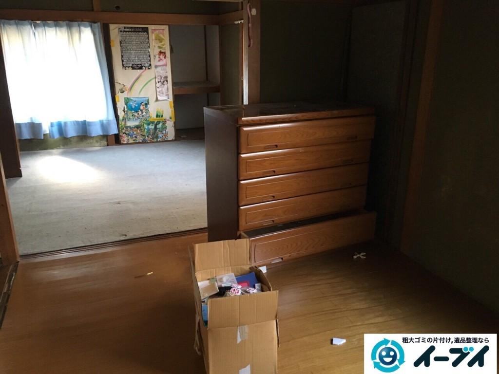 1月1日 大阪府岸和田市で婚礼家具の家具処分で不用品回収をしました。写真1