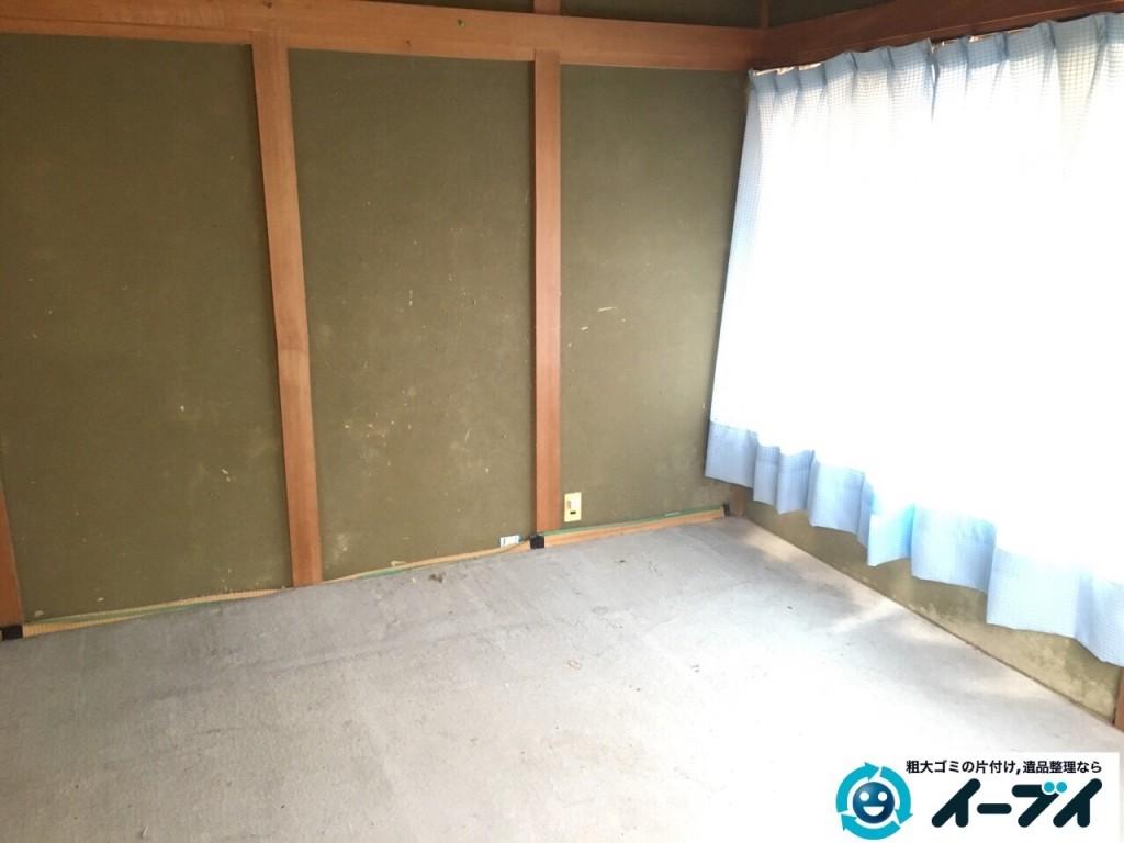 1月1日 大阪府岸和田市で婚礼家具の家具処分で不用品回収をしました。写真6