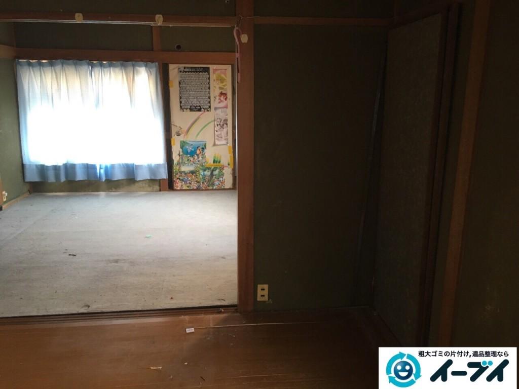 1月1日 大阪府岸和田市で婚礼家具の家具処分で不用品回収をしました。写真5