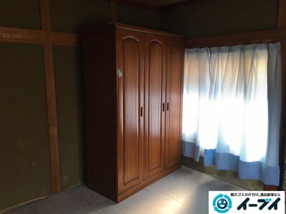 1月1日 大阪府岸和田市で婚礼家具の家具処分で不用品回収をしました。写真2