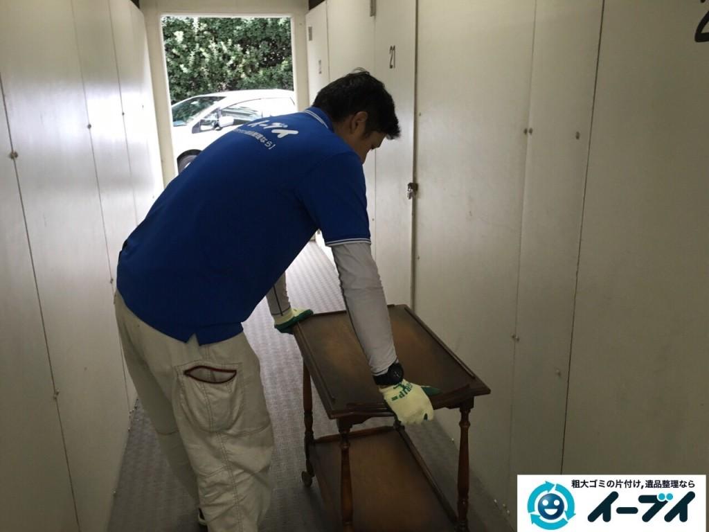 12月16日 大阪府豊能郡能勢町でマンションの倉庫の廃品や粗大ゴミの不用品回収をいたしました。写真6