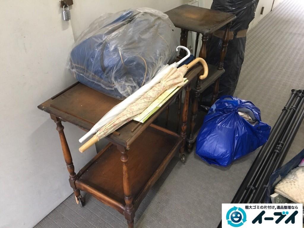 12月16日 大阪府豊能郡能勢町でマンションの倉庫の廃品や粗大ゴミの不用品回収をいたしました。写真5