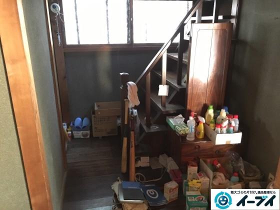 12月26日 大阪府堺市中区で遺品整理に伴いドレッサーや廃品や粗大ゴミの不用品回収をしました。写真6