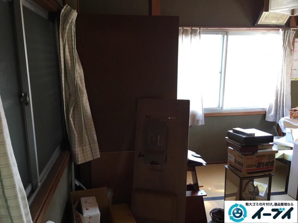 12月30日 大阪府大阪市浪速区で婚礼家具や布団など粗大ゴミの不用品回収をしました。写真6