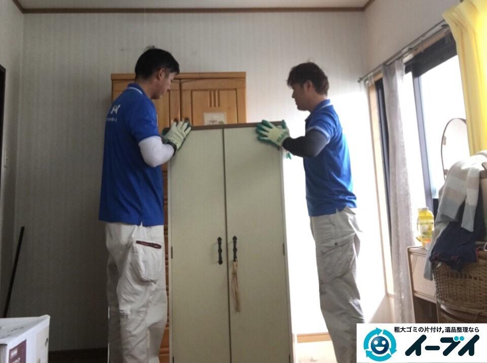 12月19日 大阪府東大阪市でタンスや学習机などの粗大ゴミの家具処分をしました。写真4