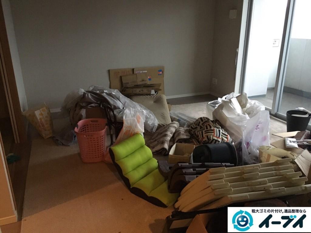 12月25日 大阪府堺市西区で引越しゴミや鏡台や粗大ゴミを不用品回収しました。写真4