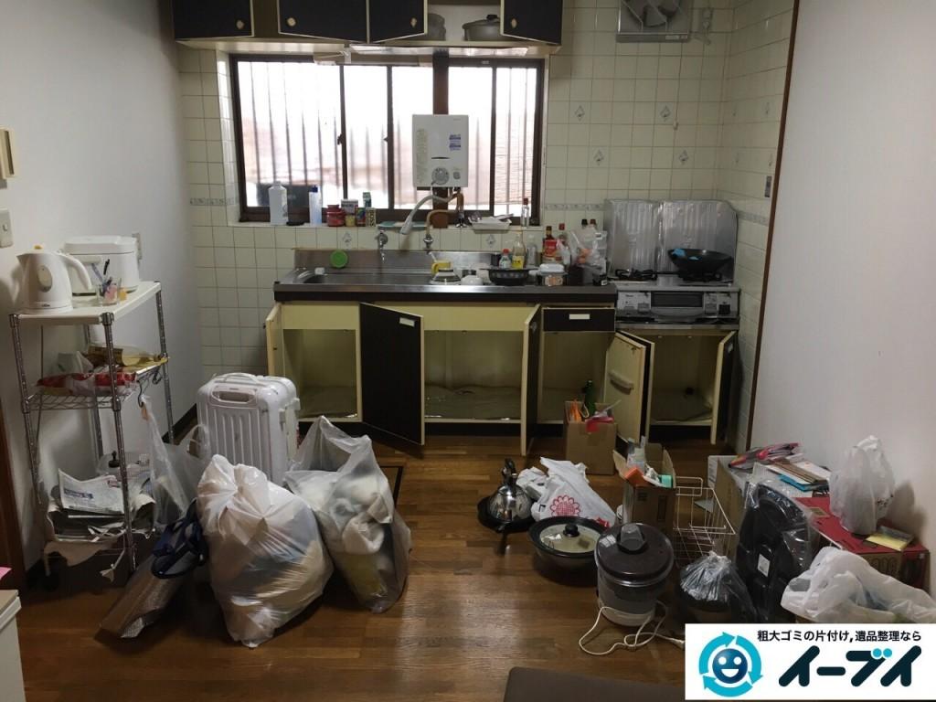 12月13日 大阪府枚方市で部屋の引越しに伴う粗大ゴミの不用品回収をしました。写真4