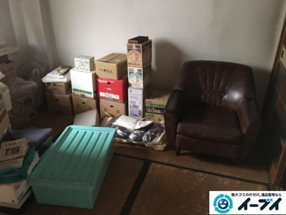 12月10日 大阪府箕面市で部屋の片付けでタンスや粗大ゴミの不用品回収をしました。写真6