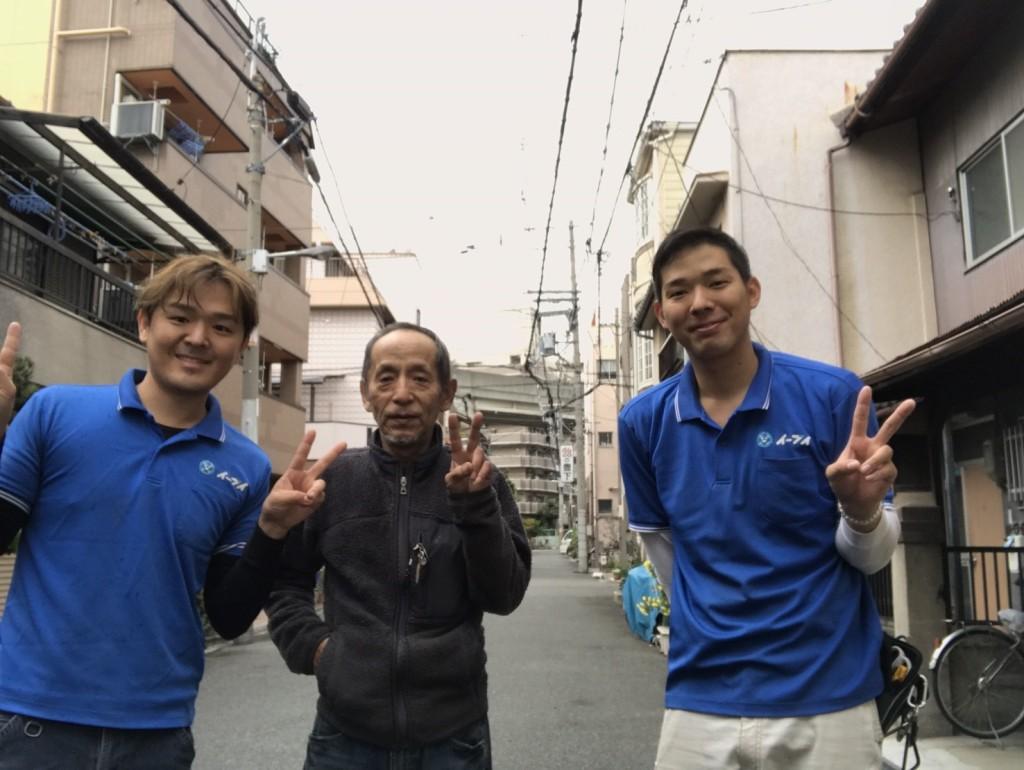 12月30日 大阪府大阪市阿倍野区で年末の大掃除で家具処分や部屋の片付けの依頼でイーブイを利用して頂きました。