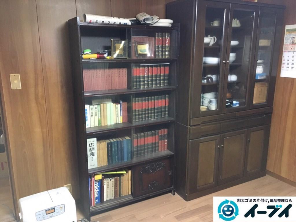 12月27日 大阪府大阪市阿倍野区で本棚や家具処分に伴う粗大ゴミの片付けをしました。写真3