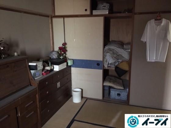 12月28日 大阪府大阪市此花区で洗濯機や家具処分に伴う粗大ゴミの不用品回収作業。写真4
