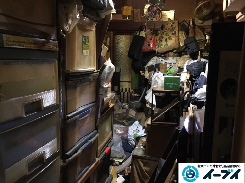 12月24日 大阪府和泉市で汚部屋状態のゴミ屋敷の片付け作業をしました。写真7