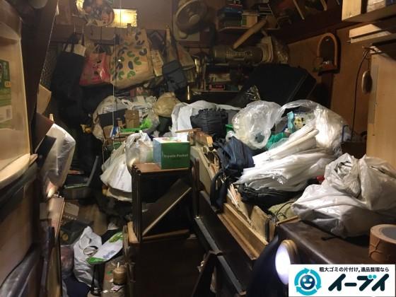 12月24日 大阪府和泉市で汚部屋状態のゴミ屋敷の片付け作業をしました。写真6