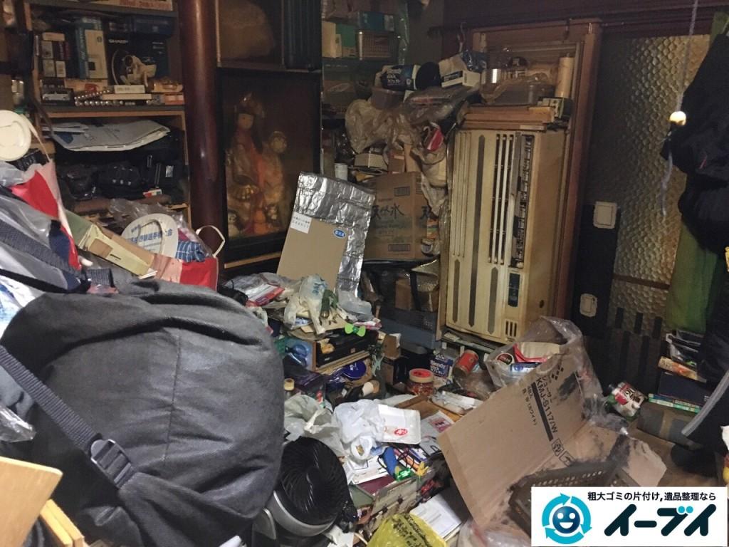 12月24日 大阪府和泉市で汚部屋状態のゴミ屋敷の片付け作業をしました。写真5