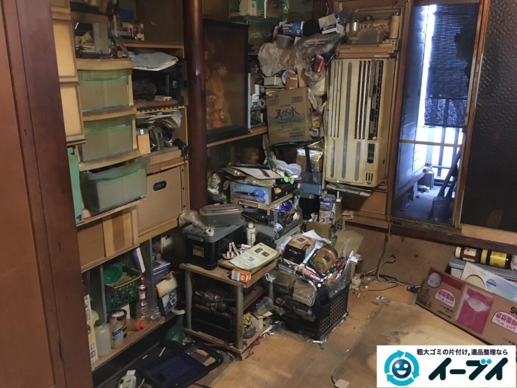 12月24日 大阪府和泉市で汚部屋状態のゴミ屋敷の片付け作業をしました。写真3