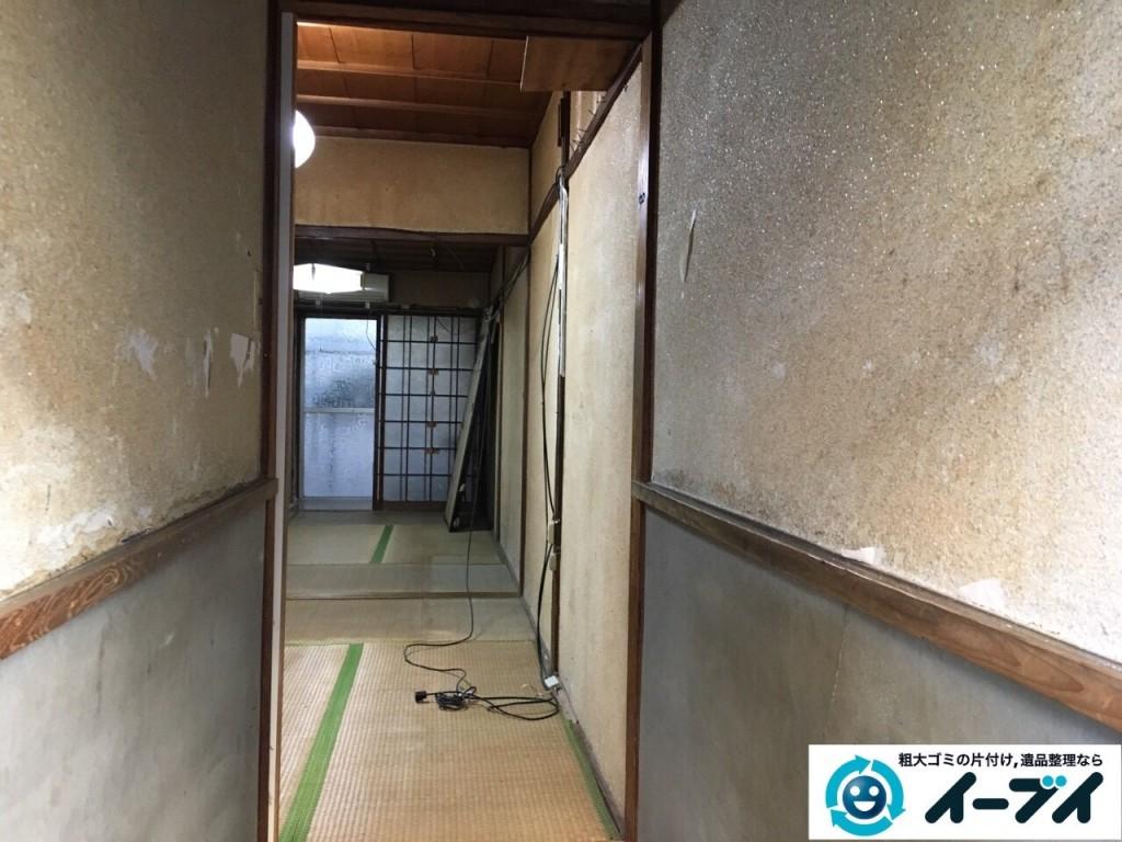 2017年1月31日大阪府大阪市淀川区で遺品整理に伴い遺品の処分や生活ゴミの片付けを行いました。写真6
