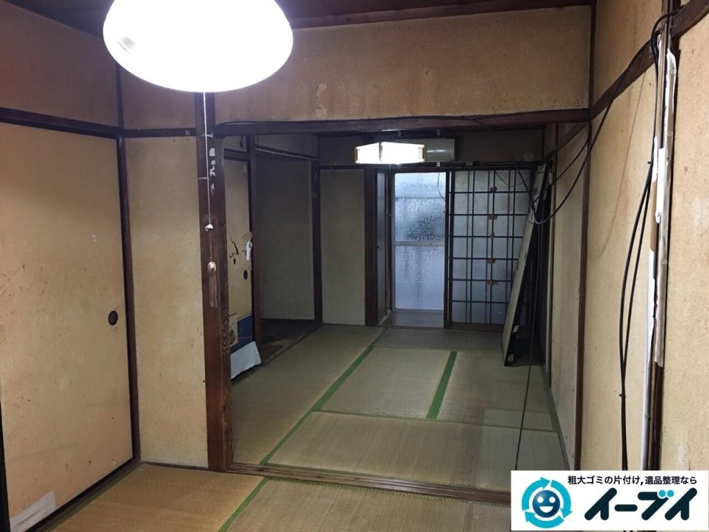 2017年1月20日大阪府堺市堺区で家具や生活ゴミなどの処分で遺品整理を行いました。写真7
