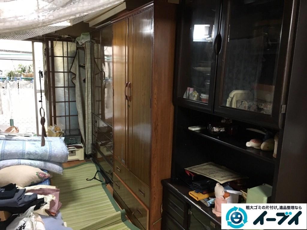 2017年1月20日大阪府堺市堺区で家具や生活ゴミなどの処分で遺品整理を行いました。写真6