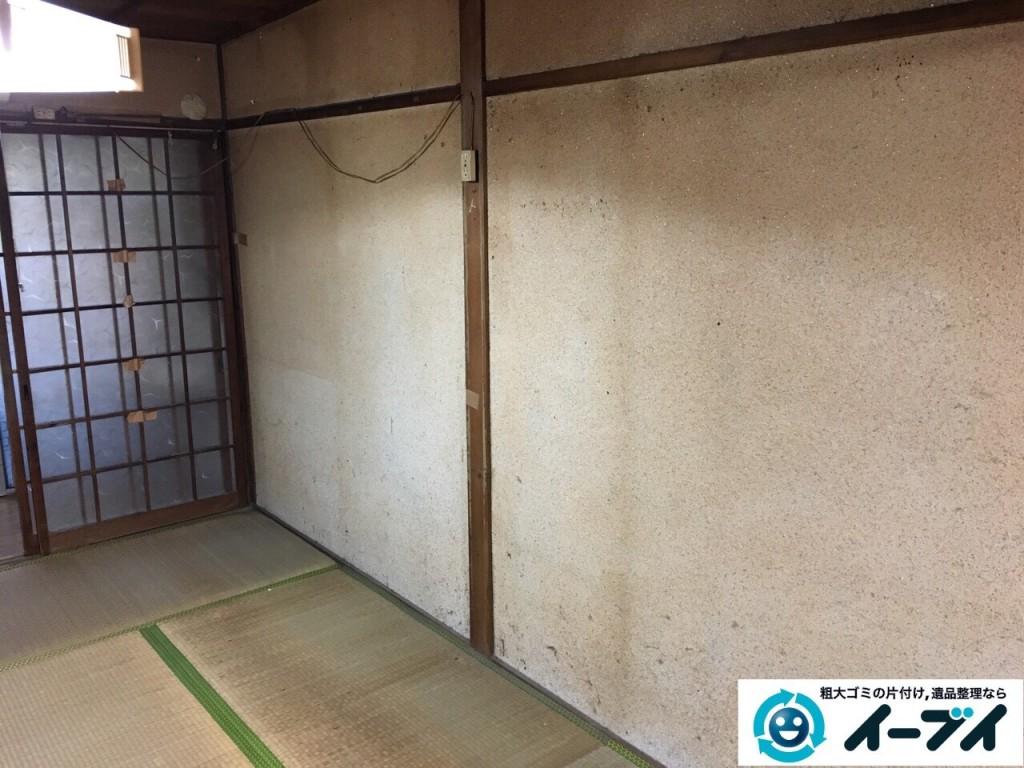 2017年1月20日大阪府堺市堺区で家具や生活ゴミなどの処分で遺品整理を行いました。写真5