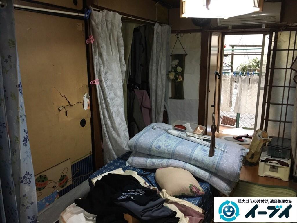 2017年1月20日大阪府堺市堺区で家具や生活ゴミなどの処分で遺品整理を行いました。写真4