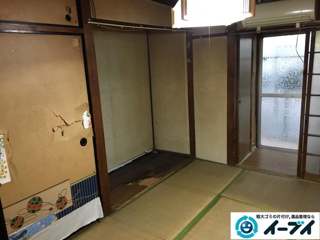 2017年1月20日大阪府堺市堺区で家具や生活ゴミなどの処分で遺品整理を行いました。写真3